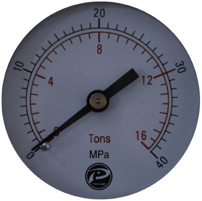 SYP-12压片机指针式双刻度压力表